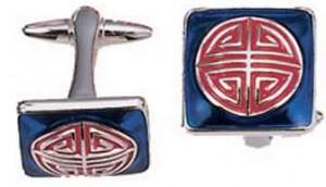Shanghai Tang shou cufflinks