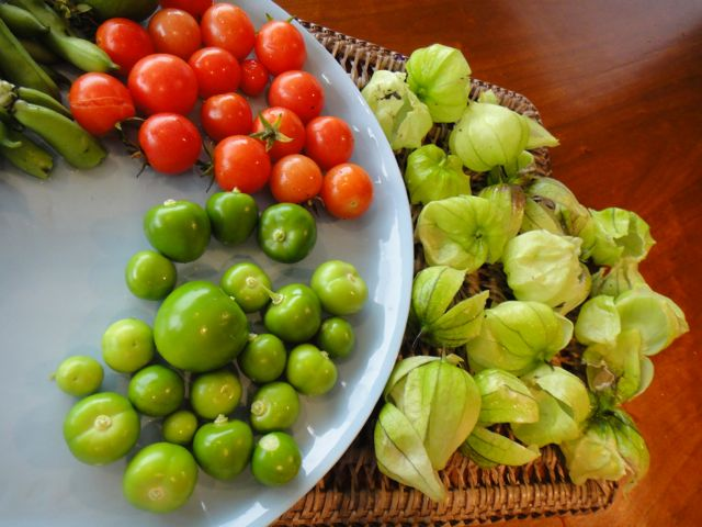 Naked Tomatillos